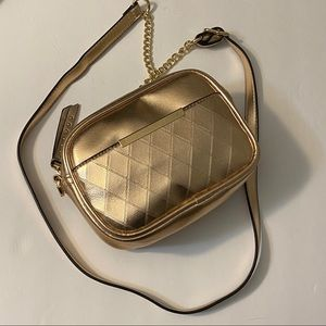 Call It Spring Rose Gold Cross Body Purse